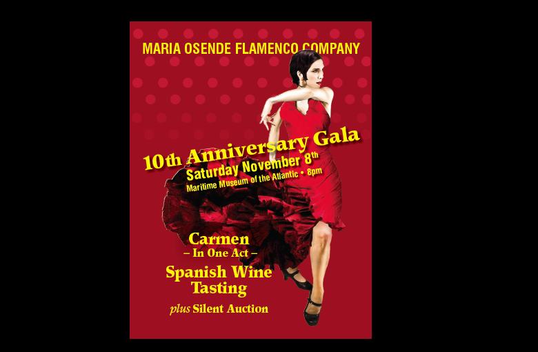 10th Anniversary Gala - MARIA OSENDE FLAMENCO