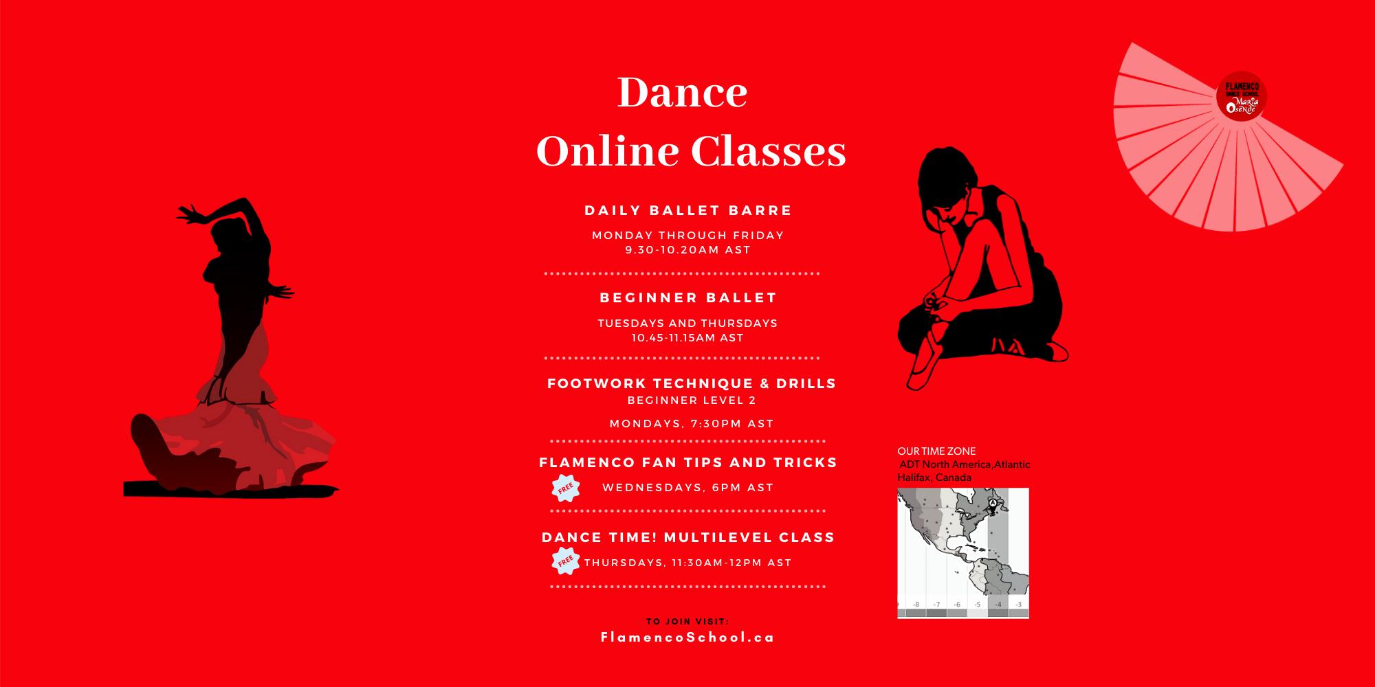 New June Online Classes 2021