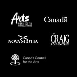 Arts Nova Scotia, Canadian Heritage, Nova Scotia Communities, Culture and Heritage, The Craig Foundation, the Canada Councillor the Arts